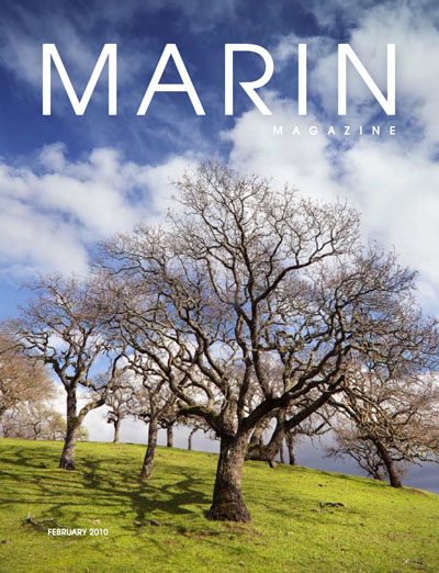 Marin Magazine February 2010 cover