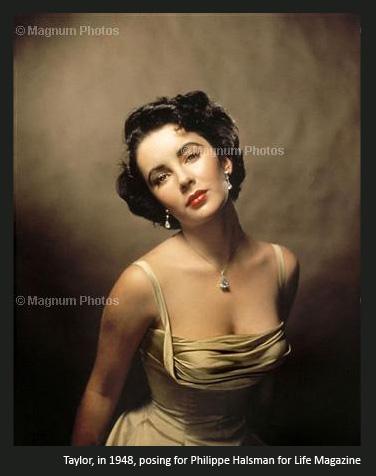 Elizabeth Taylor, Philippe Halsman
