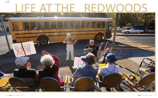 Seniors for Peace, The Redwoods, Mill Valley
