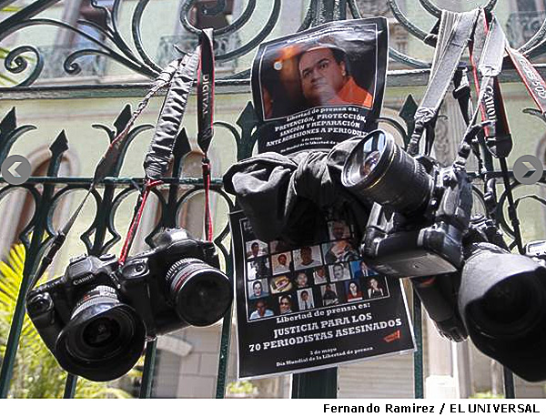 Three Mexican photojournalists killed