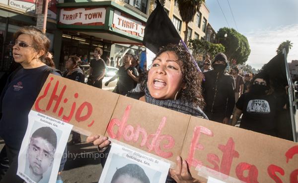 Mission, protestor, Ayotzinapa