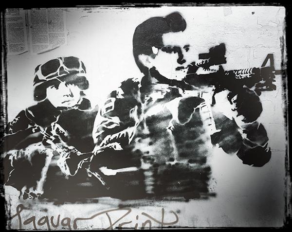 Oaxaca, wall, protest